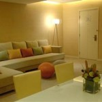 Yellow two bedroom suite